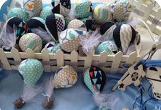 Fabric hot air balloons, party favours for boys Boy Baptism, Baby Christening, Baptism Ideas, Boy Party Favors, Old Toys, Hot Air Balloon, Fabric Patterns, Balloons, My Etsy Shop