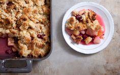 Fall Fruit Crumble: 2000s Recipes + Menus : gourmet.com