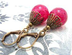 Ohrhänger - Magische Drachenblut Ohrringe - ein Designerstück von Gentle-Breeze…