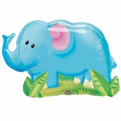 Jungle elephant supershape balloon http://www.wfdenny.co.uk/p/jungle-elephant-supershape-balloon/3326/