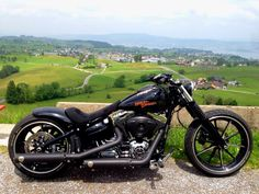 """""""Facebook"""" Harley Davidson Breakout Friends Europe. Check out Facebook and Instagram: @metalroadstudio Very cool!"""