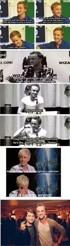 Drarry. Because even Tom felton ships it