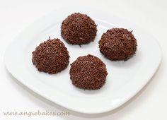 Na dnes tu mám pre vás recept na tieto vynikajúce brazílske čokoládové guličky…