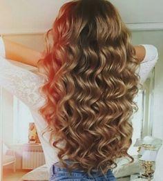 Curly Hair Styles, Long Curly Hair, Big Hair, Wavy Hair, Curls Hair, Blonde Hair, Pretty Hairstyles, Wig Hairstyles, Hairstyles 2018