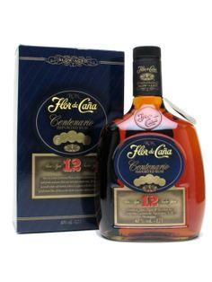 Flor de Cana 12 Year Old Centenario Rum : Buy Online - The Whisky Exchange