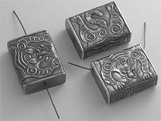 Anne Choi: handmade beads and silver jewelry