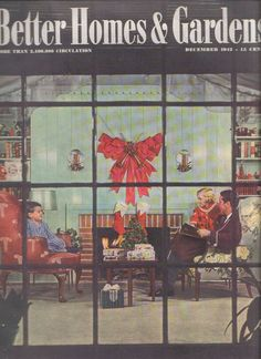 Better Home And Gardens Christmas Ideas Better homes and gardens december 1934 vintage christmas then and workwithnaturefo