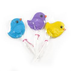 Gertrude Hawk Chocolates - Chick Pop - 3 Pack