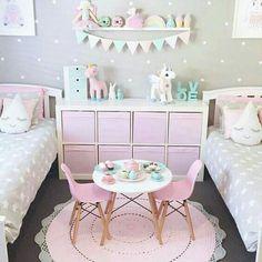 bedroom designs for kids unicorn Girls Unicorn Bedroom Ideas 8 Year Old ; Girls Unicorn Bedroom Ideas 8 Year Old Pink Bedroom For Girls, Teenage Girl Bedrooms, Baby Bedroom, Little Girl Rooms, Trendy Bedroom, Bedroom Neutral, Kid Bedrooms, Room Baby, Master Bedroom