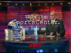 This Is SportsCenter - Star Wars commercial. As a major sports fan and a huge Star Wars fan...this is amazing.