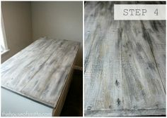 """Barnwood Paint: I love the look of barnwood but its hard to come by. This shows you how to paint wood to create the """"look"""" of barnwood."""