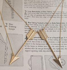 Arrow Collar Necklace, $65.00 by Erica Weiner