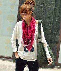 New Women Hobo Bag Canvas Cross Body School Bags for Girls #Dowerme #Hobo