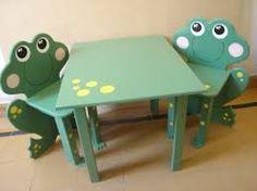 Resultado de imagen para mesas sillas infantiles