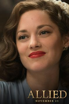 Don't miss Marion Cotillard's amazing performance in Allied. In theatres November 23rd. ALLIED is the story of intelligence officer Max Vatan (Pitt), who in 1942 North Africa encounters French Resistance fighter Marianne Beausejour (Cotillard) on a deadly mission behind enemy lines. Reunited in London, their relationship is threatened by the extreme pressures of the war. Costume designs by Joanna Johnston. For more fashion from Allied Movie, follow us NOW!