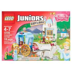 Lego Juniors Disney Princess Easy to Build Cinderella's Carriage Building Toy Ages 4-7