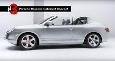 Porsche Top 5 Concepts Video Reveals Bonkers Cayenne Cabriolet