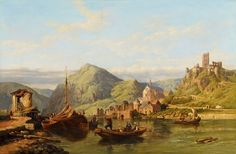 Image from http://upload.wikimedia.org/wikipedia/commons/9/9a/George_Clarkson_Stanfield_Beilstein_an_der_Mosel.jpg.