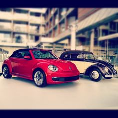 VW Beetle then and now