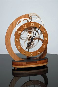 What I like most about this one is actually just the simple, lovely clarity of the clock face.