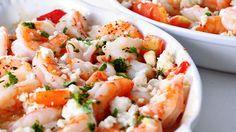 Chris PowellFeta and Tomato Shrimp Skillet - Chris Powell