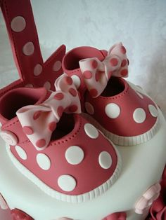 Baby minnie mouse shoes