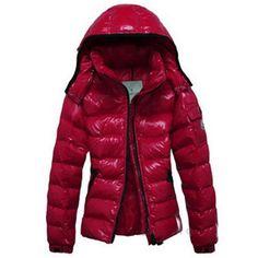 beb2f52ce80e Moncler damen jacke monc clairy der Verschluss rot Moncler montcler Love  Fashion, Winter Fashion,