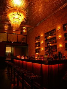 Ever wish you could enjoy a cocktail in an atmosphere as swanky, secretive, and sophisticated as the speakeasies of the prohibition era? Well you don't need a time machine, only a reservation at San Francisco's Bourbon and Branch. From their lack of signage outside to being vetted with a password at the door and their strictly enforced no cameras or phones policy Bourbon and Branch will transport you back in time without any complicated philosophical paradoxes. Just good drinks and good…