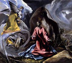 El Greco, The Agony in the Garden, c. 1590 Oil on canvas, 104 x 117 cm Toledo Museum of Art, Toledo, Ohio