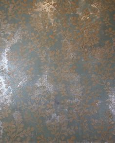 Finishing Acts: Faux Finishing with Silver and Wallovers Branching Out stencil