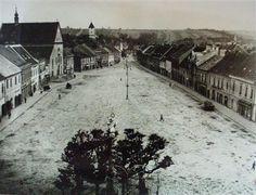 Masarykovo náměstí, po roce 1940