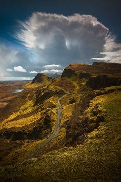 Isle of Skye, Scotland Quiraing Cloud