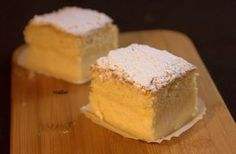 ORiginal source of magic cake? -- with video. Sweet Recipes, Cake Recipes, Dessert Recipes, Köstliche Desserts, Delicious Desserts, Magic Custard Cake, Planet Cake, Just Cakes, Flan