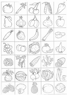 Coloring Worksheets Fruits Vegetables Beautiful Pin by andrea Shaw On Prvouka – Coloring Pages Gallery Spelling Worksheets, Kindergarten Worksheets, Printable Worksheets, Preschool Activities, Coloring Worksheets, Vegetable Coloring Pages, Subtraction Kindergarten, Drawing For Kids, Kids Education