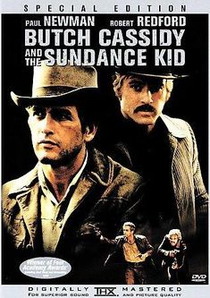 Butch Cassidy and the Sundance Kid - Paul Newman, Robert Redford and Katharine Ross. Kid Movies, Movies And Tv Shows, Movie Tv, Movie Club, Famous Movies, Cult Movies, Sundance Kid, Ted Cassidy, Paul Newman Robert Redford