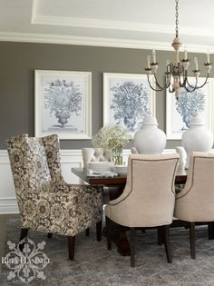 Traditional Dining Room {Project Reveal}: Pennsylvania House | Bria Hammel  Interiors | Dining