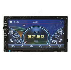 7 inch Car GPS Navigation Bluetooth Stereo Radio CD DVD Player Double 2 DIN Touchcreen Sale - Banggood.com