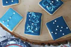 Party Under The Stars Constellation Cookies by School House Bakery on Craft That Party