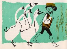 All in the Morning Early - by Sorche Nic Leodhas, illustrated by Evaline Ness (1963).
