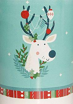Christmas Holiday Reindeer Gift Mug with Milk Duds Candy