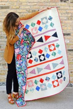= free pattern = Through The Looking Glass quilt at Birch Fabrics (PDF download)