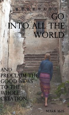 Missionary work inspires me to always proclaim the word to the world therefore it makes me a Trophy in Christ