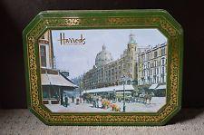 Harrod's Harrods Knightsbridge London empty tin box collectable