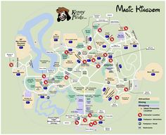 Hollywood Studios Map with Character Locations | Disney\'s Hollywood ...
