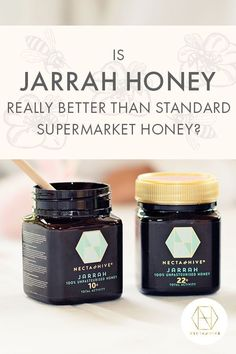 Try our Jarrah honey and it won't just be the taste that gives you a good idea of why it's better than standard supermarket honey. Check out the science and you'll see that the active, healing properties of the antimicrobial sticky stuff is quite phenomenal. Our blog has all the facts, and if you sign up to the newsletter you'll get 20% off your first order. #honey #luxuryhoney #jarrahhoney #nectahive #antimicrobialhoney #healinghoney Sore Throat And Cough, Sooth Sore Throat, Australian Honey, Best Honey, Did You Eat, Manuka Honey, Sugar Cravings, Bees Knees