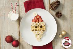 Santa Waffle with Nu