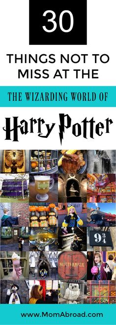 30 Things Not to Miss at the Wizarding World of Harry Potter