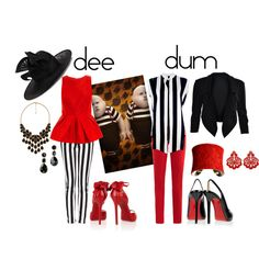 Mad Hatter Tea Party: Tweedle Dee and Tweedle Dum - limelights. Disney Bound Outfits, Disney Inspired Outfits, Disney Dresses, Mad Hatter Party, Mad Hatter Tea, Alice In Wonderland Outfit, Next Clothes, Halloween 2018, Happy Halloween