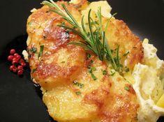 Cartofi gratinaţi la cuptor – Cook like a man! Jamie Oliver, Chicken, Cooking, Food, Drinks, Diet, Kitchen, Drinking, Beverages