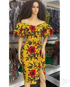 Trendy ideas on modern african fashion 637 Short Ankara Dresses, Best African Dresses, African Traditional Dresses, African Attire, African Wear, Short Gowns, African Women, African Fashion Designers, African Fashion Ankara